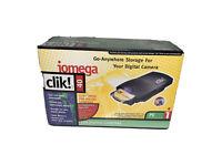 Vintage Iomega Clik! 40mb External Drive for PC- Brand New Sealed