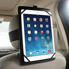 "Universal Car Headrest Mount Holder for Apple,Samsung, Asus, LG 7""-11"" Tablets"