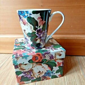 V&A Welbeck Rose Bone China Mug Cup Boxed Cottagecore Floral Romantic Gift