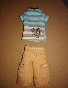 Barbie's KEN Tiki Bermuda Shorts OUTFIT