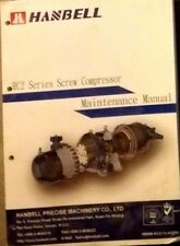 Hanbell RC2 series screw compressor maintenance manual libro per la manutenzione