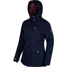 Regatta Beatriz Waterproof Insulated Hooded Jacket Navy Size UK 20 Ls082 JJ 05