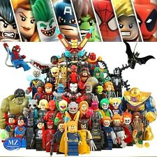 Lego minifigures avengers super eroi heroes marvel dc comics custom compatibili