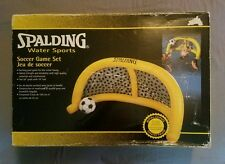 Vintage Spalding Water Sports Ball Net Soccer Game Set NEW IN BOX HTF Pool Game