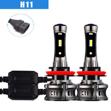 2PCS Car accessories H11 LED Headlight Bulbs Kit Canbus Error Free 6000K 8000K