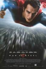 Man of Steel Original D/S One Sheet Rolled Movie Poster 27x40 NEW 2013 Superman
