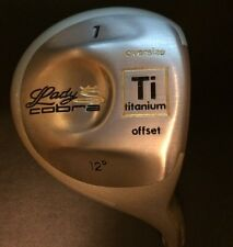 NEW Cobra Lady Cobra Driver 12 Degree Oversize Titanium Offset Head