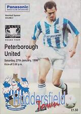 HUDDERSFIELD TOWN v PETERBOROUGH UNITED 95-96 FA CUP MATCH