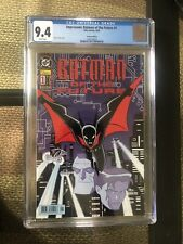 "Impressum: Batman Of The Future ""Batman Beyond"" #1 CGC 9.4 German Edition"