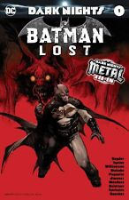DARK NIGHTS: Batman Lost #1 [2017] - Metal Foil Stamped Cover - DC Comics
