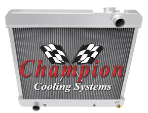 4 Row Performance Champion Radiator for 1960 1961 1962 1963 1964 Buick