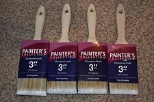 "NEW! 3"" Trim Painter's Collection Brush - for all paints - Lot of 4"
