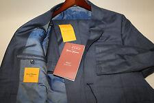 Hickey Freeman Beacon Summer Wish 170's + Silk 600 Suit Size 40 C  CUSTOM MADE