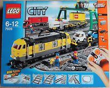 Lego 7939 - RC - Güterzug mit gelber Diesellok - Eisenbahnset - NEU & OVP .