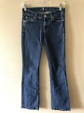 Ladies Seven For All Mankind Bootcut Jeans Size 26 x 30