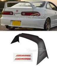 94-01 Integra 2DR DC2 MUGEN Gen 1 Rear Trunk Spoiler Wing Coupe w/ red emblems