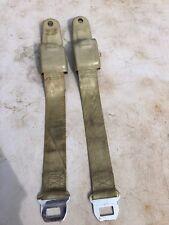 1967 1968 Camaro Gold Retractor Seat Belts