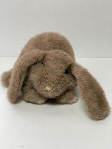 "Folkmanis Realistic Bunny Baby Lop Ear Rabbit Hand Puppet Plush 14"""