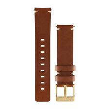 Garmin vivomove Light Brown Leather Watch Band - 010-12495-05