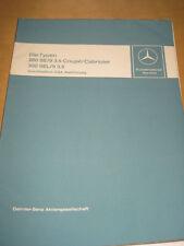 Mercedes Service  W 109  - W 111 -  280 SE 3.5 Coupe/ Cabrio incl.USA Modelle