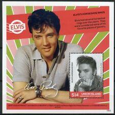 Union Island Gren St Vincent 2019 MNH Elvis Presley Life in Stamps 1v S/S II