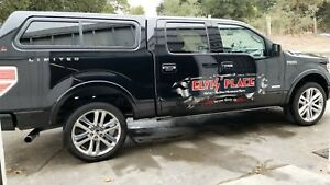 """22"""" polished aluminum wheels 2013 Ford Lariat Limited F150 truck WOW!!! NICE!!!"""