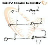 Savage Gear Fishing Lures Stingers CARBON49 T-TREBLE SPIKE 2Pcs Wire Trace Pike