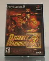 Dynasty Warriors 3 (Sony PlayStation 2, 2001) PS2 Complete