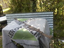 CREMAILLERE DE CHEMINEE ANCIENNE FIN XIXe 104 cm pliée