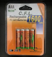 AKKU Batterien AAA 1600 mAh NI-MH AKKU Wiederaufladbar