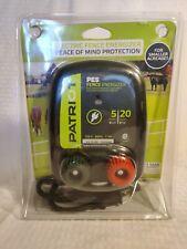 Patriot Electric Fence Energizer 5 Miles 20 Acres 120 Volt Open Box