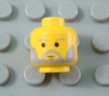 LEGO Star Wars Old Obi-Wan Kenobi Minifig Head