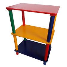 Robustes Regal für Kinder - Nachttisch, bunt, Holz, Kinderzimmer, Kisten - NEU