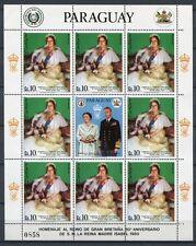 Paraguay 1981 Königinmutter Royalty Queen Mum 3411 Kleinbogen MNH