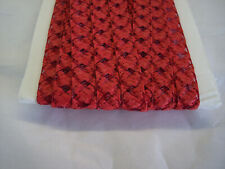 "yds  sz 1//2/"" RED NEW SIZE Millinery DOLL hat Straw Braid 8 Yards"