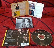 KENNY G ** Breathless ** CD ORIGINAL 1992 Spain w/ BONUS TRACK