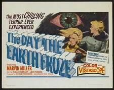 THE DAY THE EARTH FROZE Movie POSTER 27x40 B Andris Oshin Nina Anderson Anna