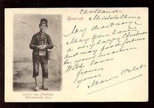 Holland Keesje van DOMBURG Walchersche Boer 1901 u/b PPC