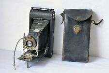 KODAK Rangefinder NO.3A Autographic Special Model C with Leather Case Excellent