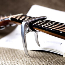Silver ADAGIO CAPO For Acoustic, electric and classical guitars, banjo SILV