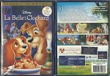 DVD - WALT DISNEY : LA BELLE ET LE CLOCHARD / NEUF EMBALLE - NEW & SEALED