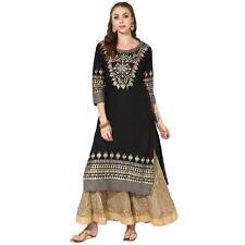 Indian Kurta Kurti Designer Women Bollywood Ethnic Dress Tunic Top Salwar Kameez