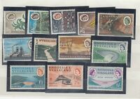 Rhodesia & Nyasaland QEII 1960 Sets x 2 SG32/37 MNH JK2587