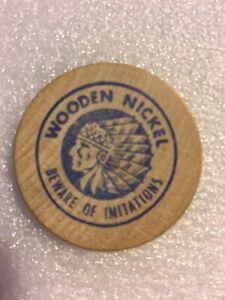 Wooden Nickel Token - Imperial Oil Company