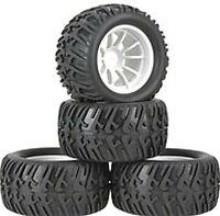 1/10 Truck Wheels 12mm Hex fitting. HSP,  HPI Savage etc  Set of four. UK Seller