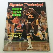 "Sports Illustrated: June 4 1984 -Earvin ""Magic"" Johnson Super Star Wars No Label"