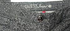 Guess Jeans PowerSkinny 29 Black Leopard Print