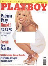 Dutch Playboy Magazine 1996-05 Shauna Sand, Patricia Paay, Naked Nielsen ...