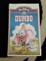 Walt Disney ☆Dumbo☆ VHS Tape ☆Masterpiece Collection☆ EUC