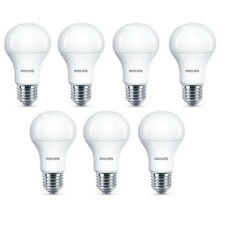 7x Philips LED Frosted E27 75w Warm White Edison Screw Light Bulbs Lamp 1055Lm